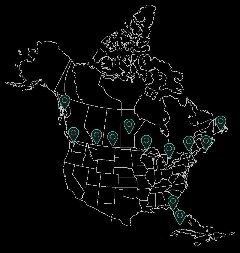 north-america-wireframe-coast-to-coast-services