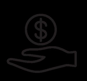 économiser-de-l'argent-icon-noir
